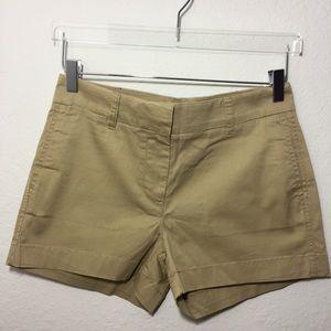 J.CREW Chino Shorts Size 2